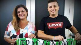 Rossella Ditaranto e Mimmo Frusi all'Audace Fragagnano 2020