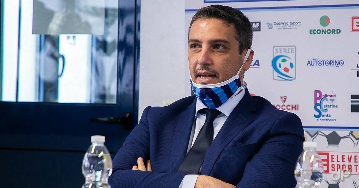 Domenico Fracchiolla direttore sportivo Lecco 2020-21