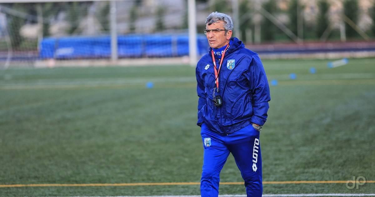 Vito Costantini allenatore Fasano 2021