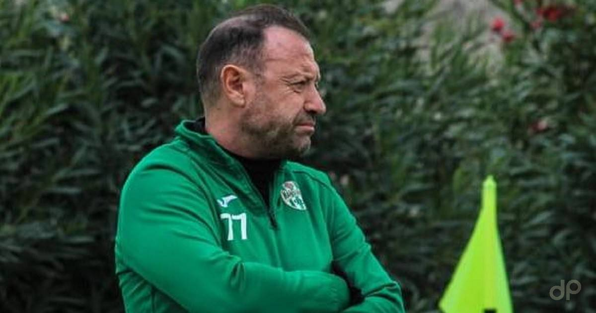 Angelo Serio allenatore Manduria 2021