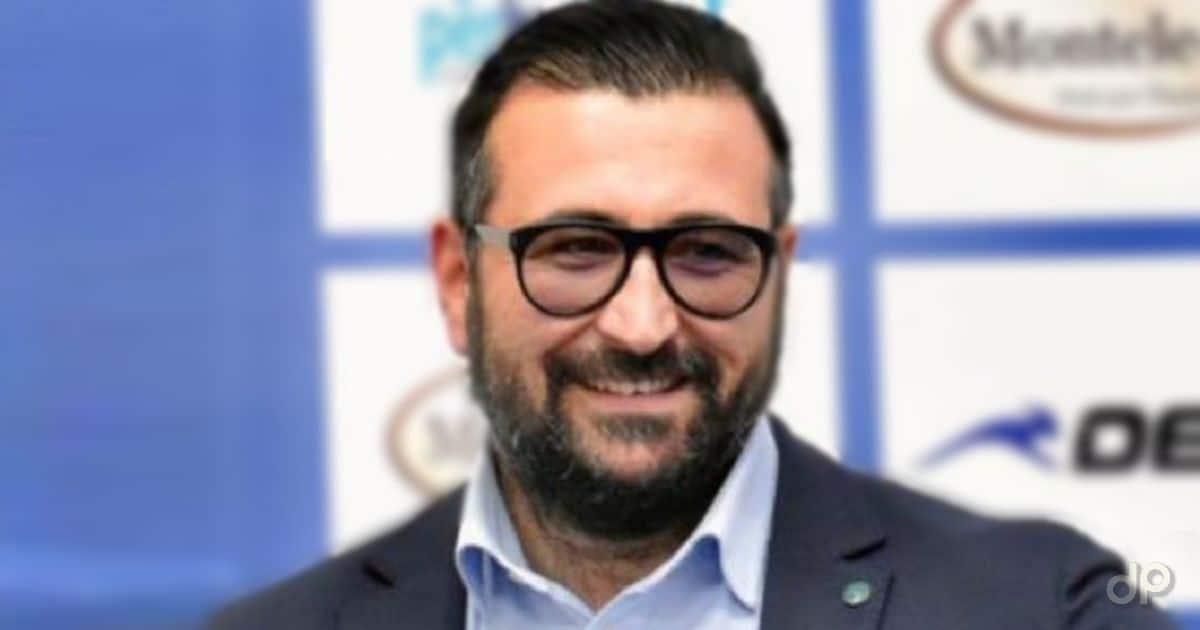 Daniele Aigliano dirigente Brindisi 2021