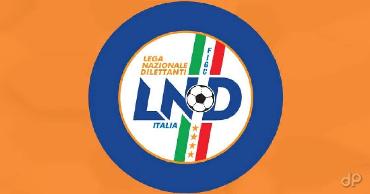 Logo LND sfondo arancione
