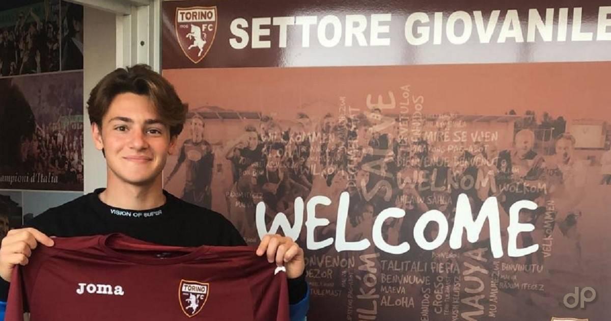 Gianluca Pozzessere al Torino 2021
