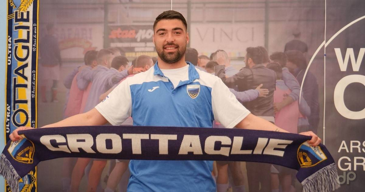 Vincenzo Chiochia al Grottaglie 2021