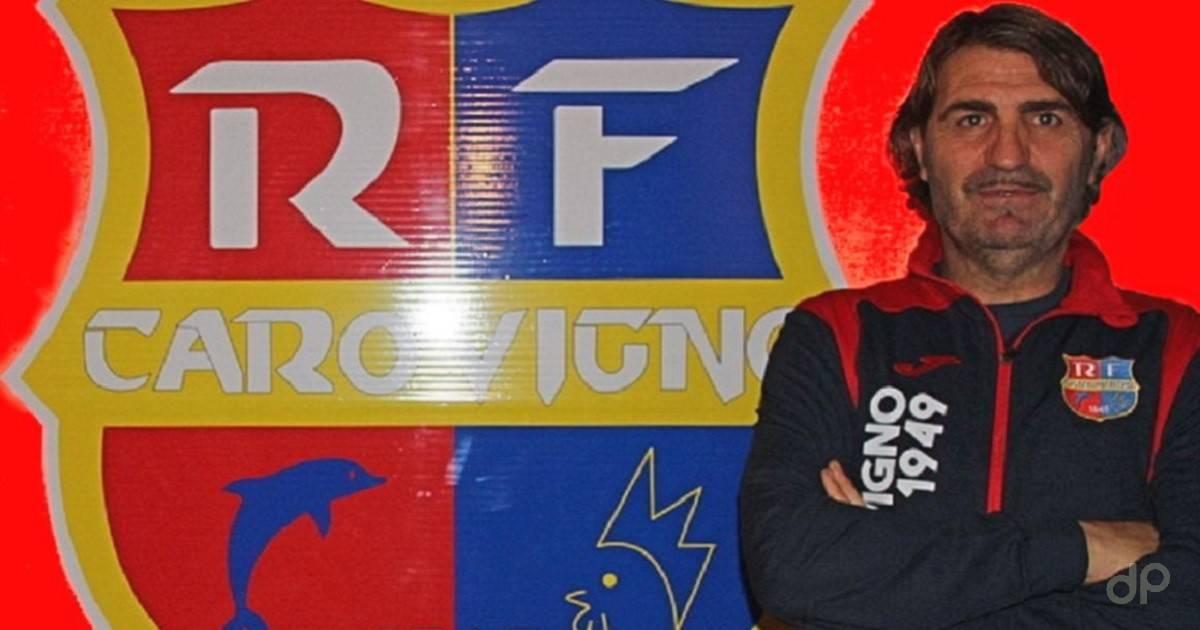 Vincenzo Tagliente allenatore Real Carovigno 2021