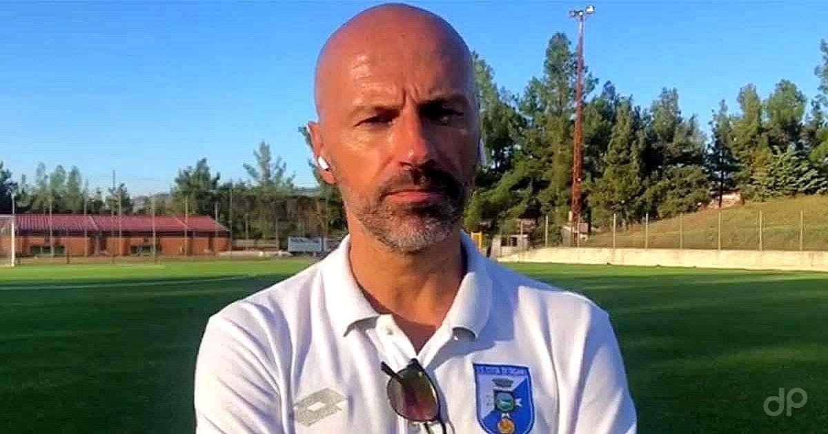 Raimondo Catalano allenatore Fasano 2020