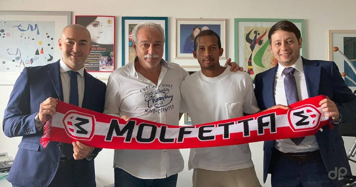 Albert Rafetraniaina alla Molfetta Calcio 2021
