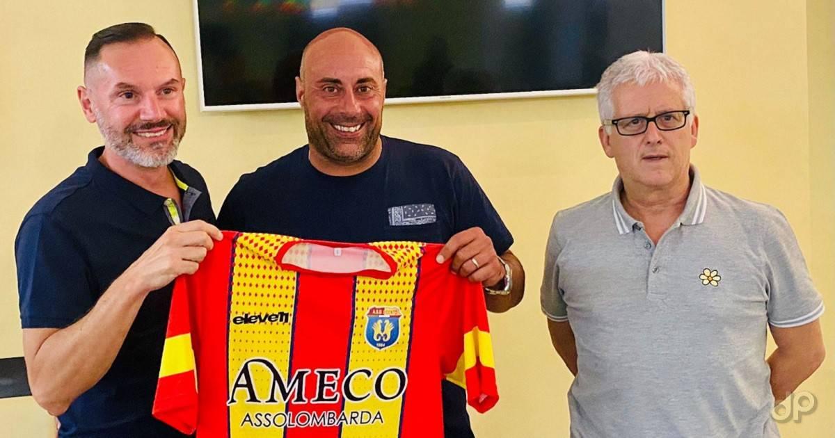 Andrea Salvadore allenatore Ugento 2021