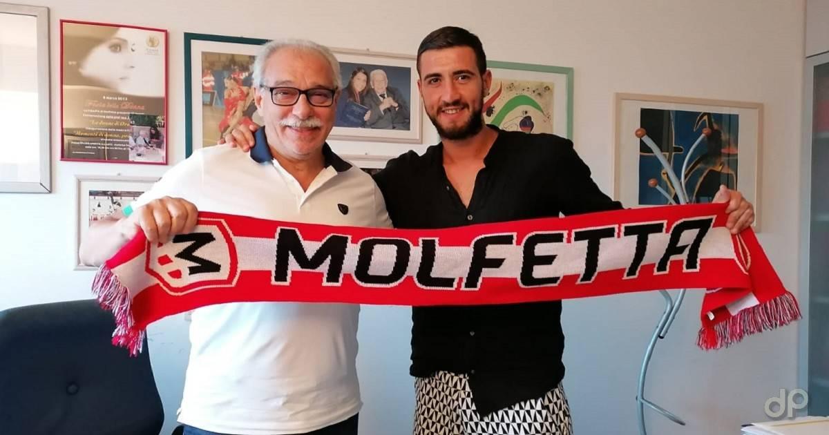 Antonio Caputo alla Molfetta Calcio 2021
