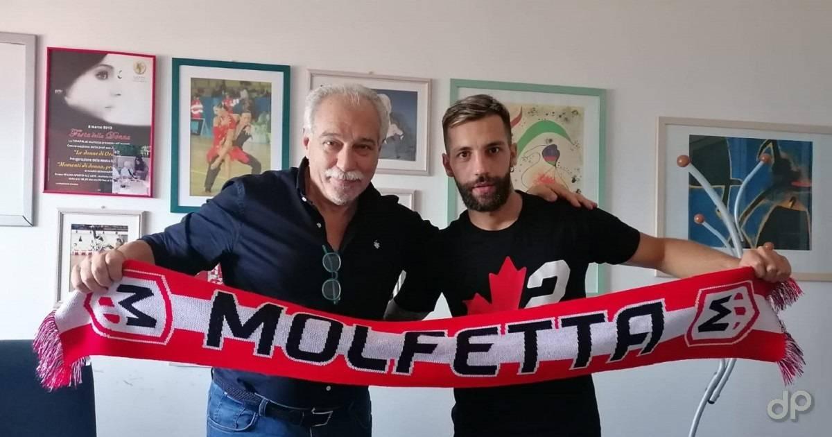 Federico Pizzutelli alla Molfetta Calcio 2021