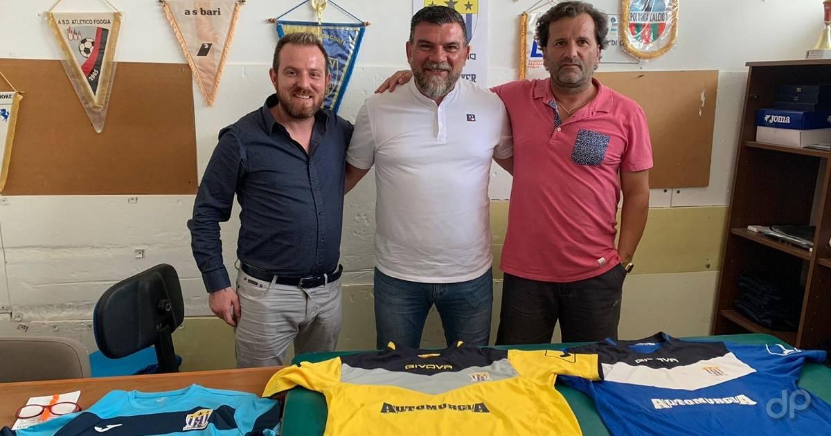 Giuliano Miani e Cosimo Sinisi alla TP Minervino 2021