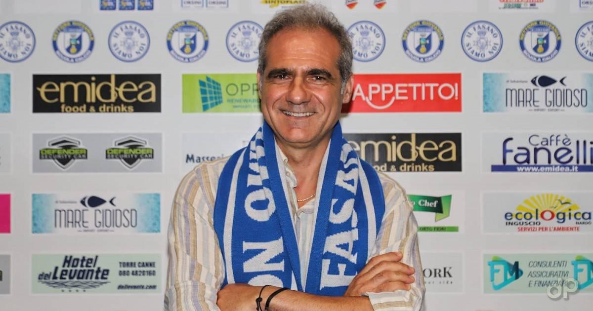 Giuseppe Mosca allenatore Fasano 2021