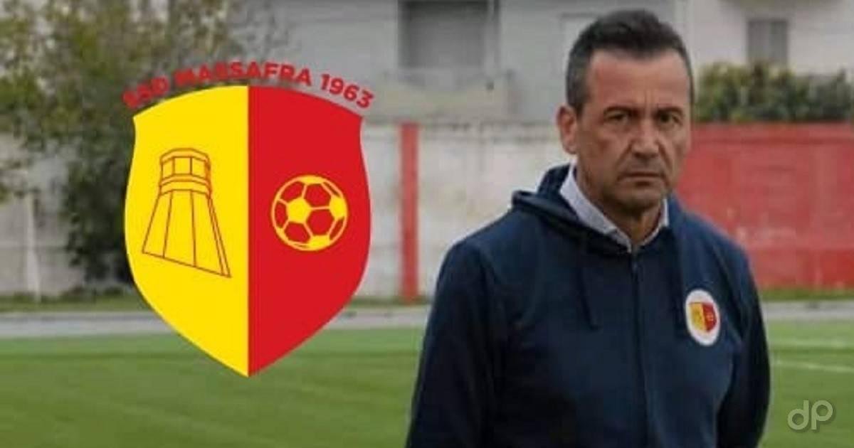 Lino D'Alena allenatore Massafra 2021
