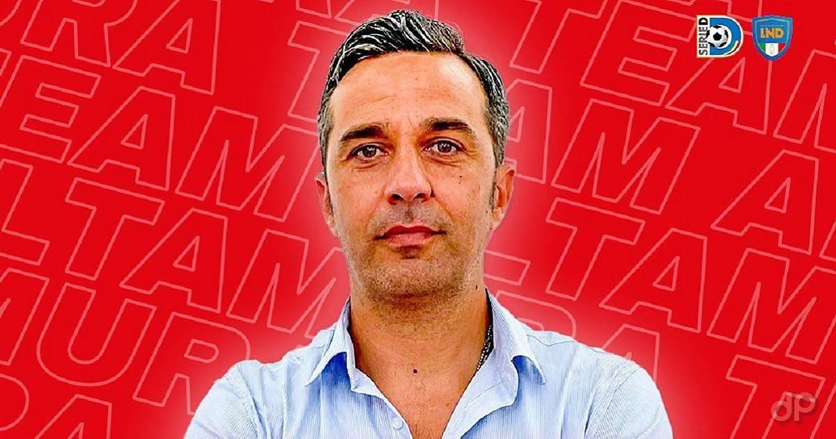 Luigi Pezzella allenatore Team Altamura 2021