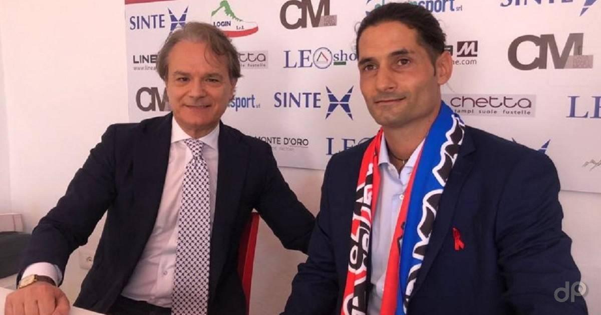 Matias Calabuig allenatore Casarano 2021