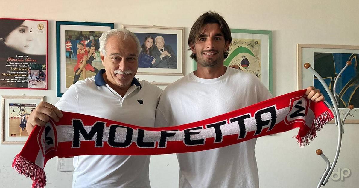 Matteo De Gol alla Molfetta Calcio 2021