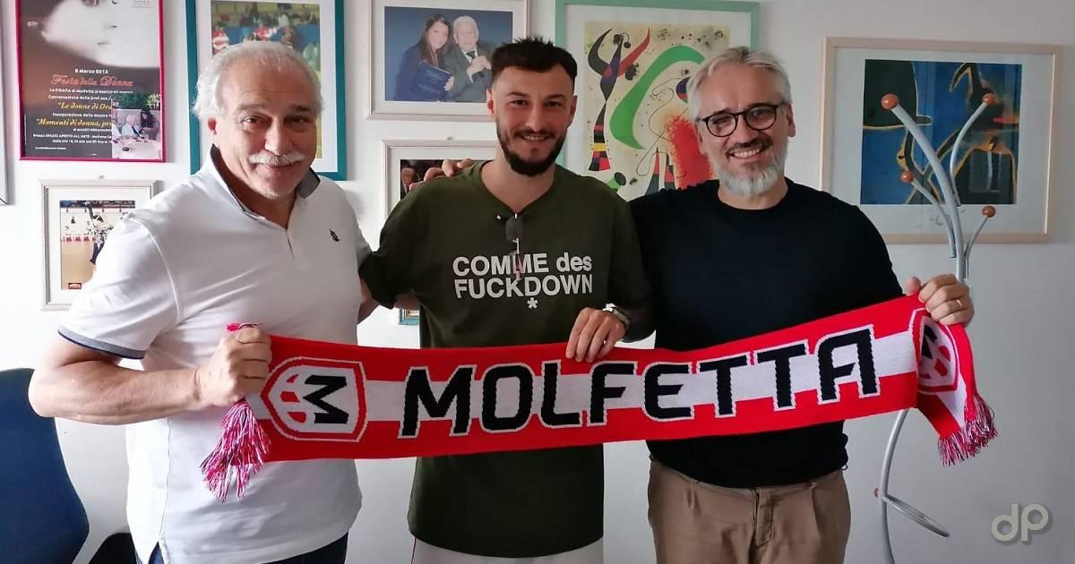 Onofrio Turitto alla Molfetta Calcio 2021