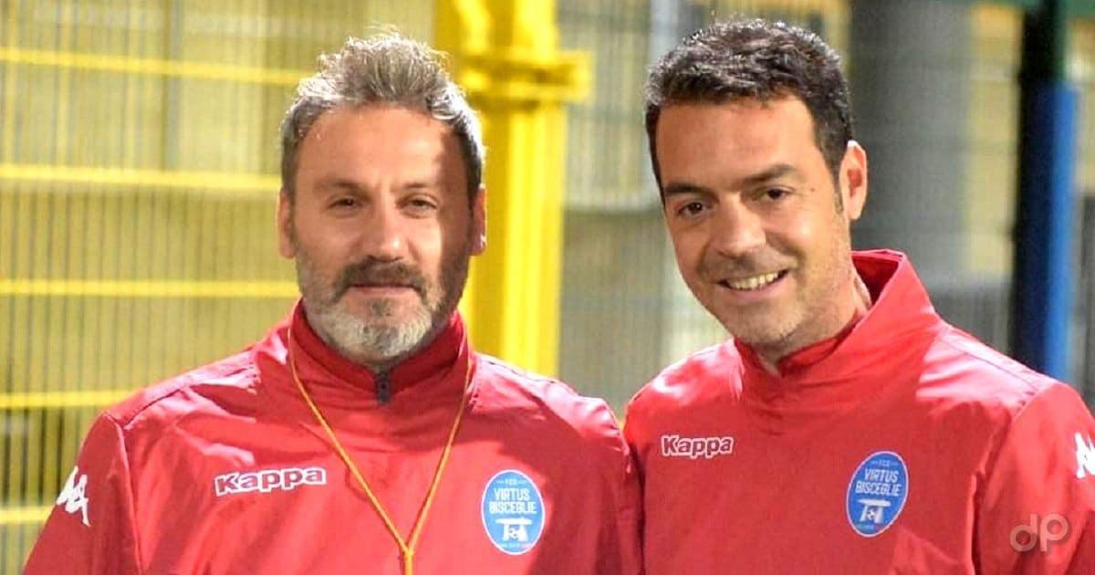 Aldo Piccarreta e Pino Di Gennaro allenatori Virtus Bisceglie 2021