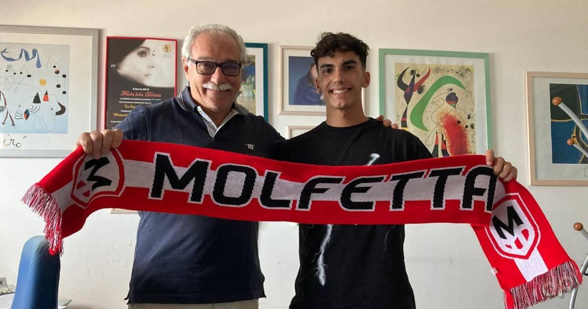Antonio Boccadamo alla Molfetta Calcio 2021