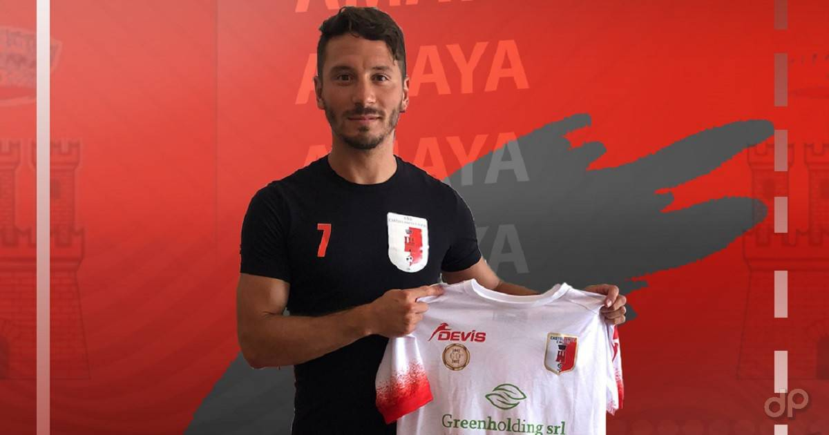 Federico Amaya al Castellaneta 2021