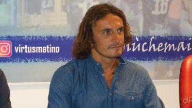 Giuseppe Branà allenatore Virtus Matino 2021