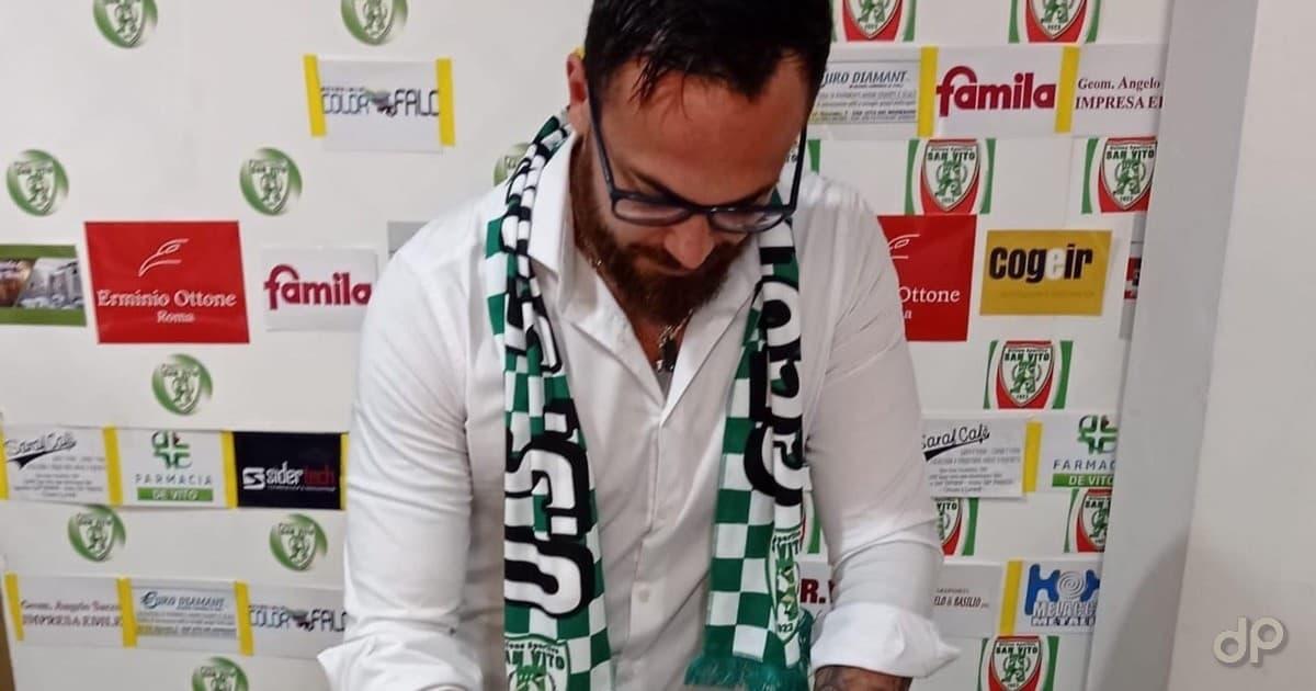 Vitantonio Nicolardi allenatore giovanili San Vito 2021